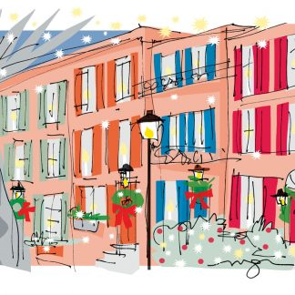 Philadelphia Houses Holiday Cards