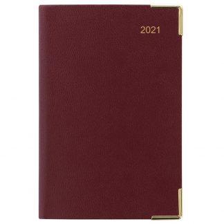 2021 Burgundy Mini Pocket Planner