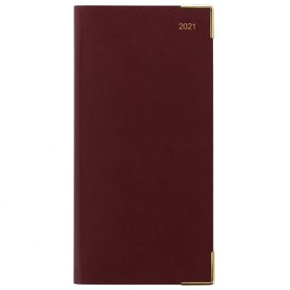 Letts of London 2021 Burgundy Planner