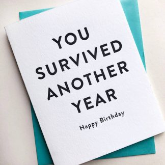 You Survived Card