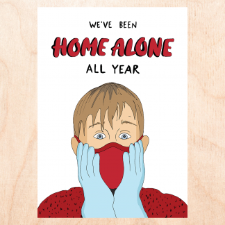 Home Alone 2020 Card