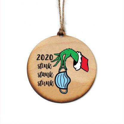 2020 Stink, Stank, Stunk Ornament