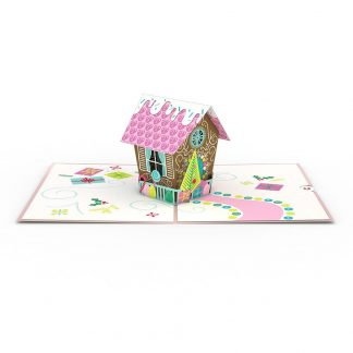 Gingerbread House 3D card