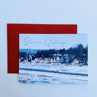 Boathouse Row Holiday Cards