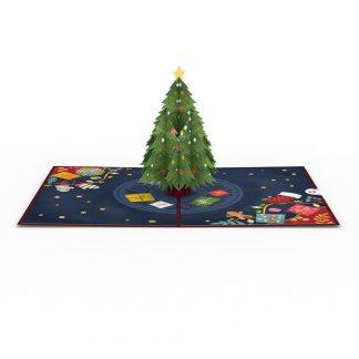 Christmas Tree 3D card