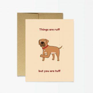Ruff Tuff Card