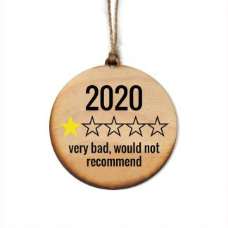 Christmas 2020 Rating Ornament