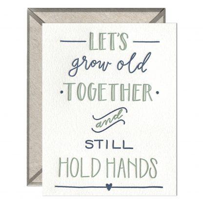 Still Hold Hands card