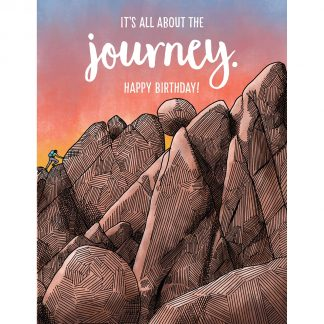 Journey Birthday Card