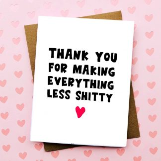 Less Shitty Valentine's Day Card