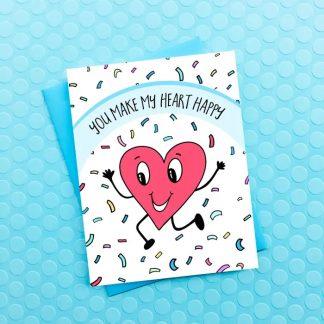 Make My Heart Happy Card