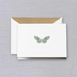 Engraved Butterfly Notecards