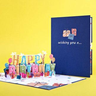 Happy Birthday 3D card