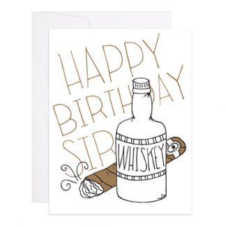 Happy Birthday Sir card