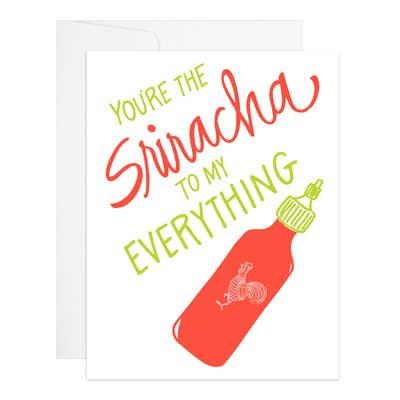 Sriracha card