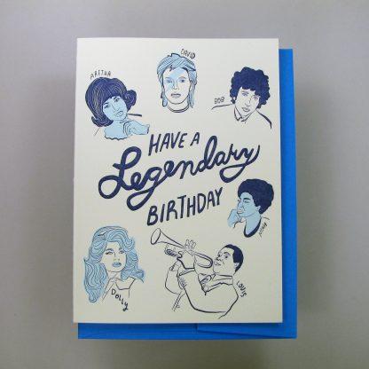 Legendary Birthday card
