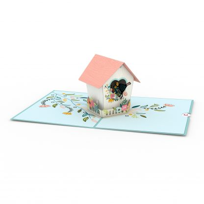 Birdhouse 3D card
