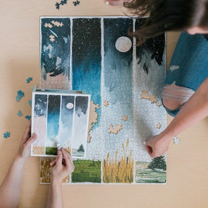 Starry Seasons Puzzle