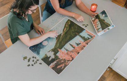 Alpine Moon Puzzle