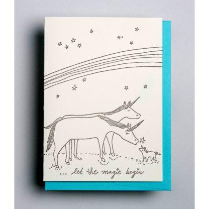 New Baby Unicorns Card