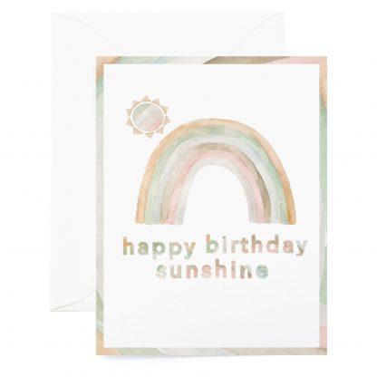 Sunshine Birthday Card