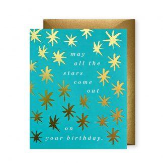 Starry Skies Birthday Card