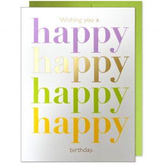Happy Happy Colorful Birthday