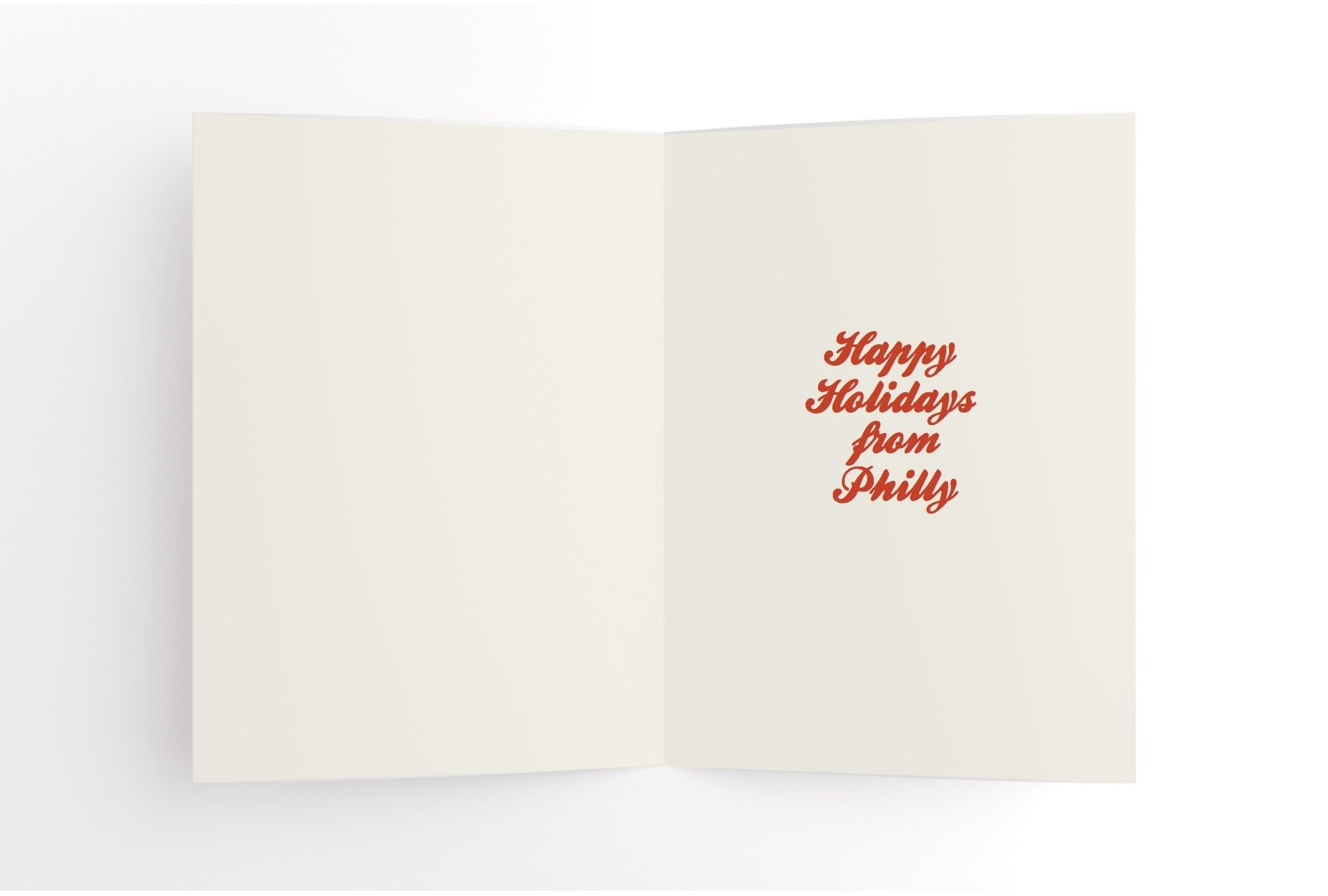 Deck the Hall & Oates Philly Holiday Card