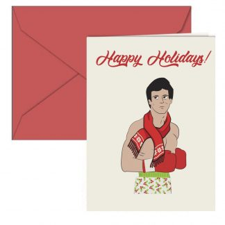 Rocky Holiday Card