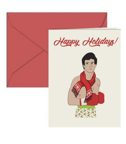 Rocky Holiday Card