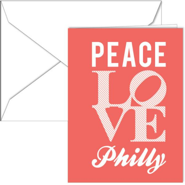 Peace Love Philly Holiday Cards Boxed Set