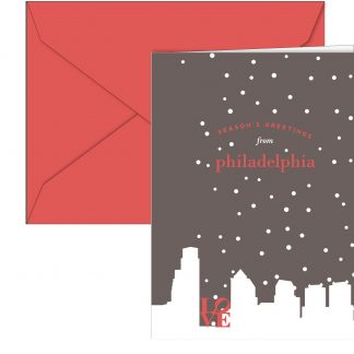 Philly Skyline Holiday Card Boxed Set