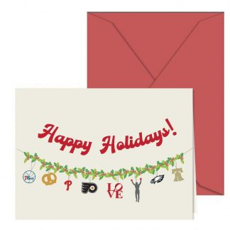 Philly Holiday Garland Card