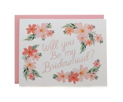 """Will You Be My Bridesmaid"" Card"