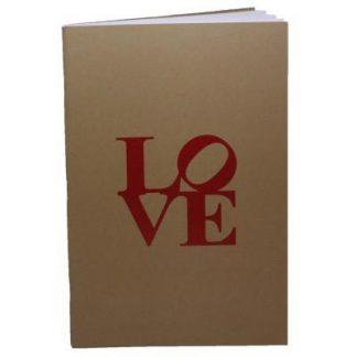 Philly Original LOVE notebook